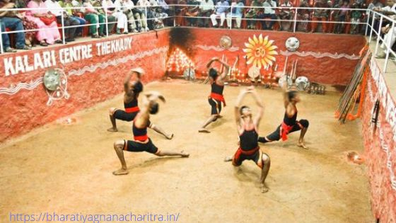Kalaripayattu performance