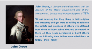 John grose views on india